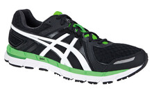 Asics Gel Excel 33  Chaussures running asics Homme blanc/noir